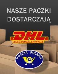 Baner wysyłka DHL Poczta polska