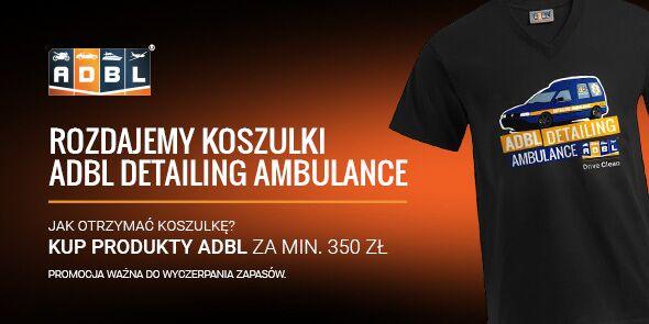 Koszulki ADBL Detailing Ambulance