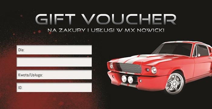 Voucher MX NOWICKI auto detailing