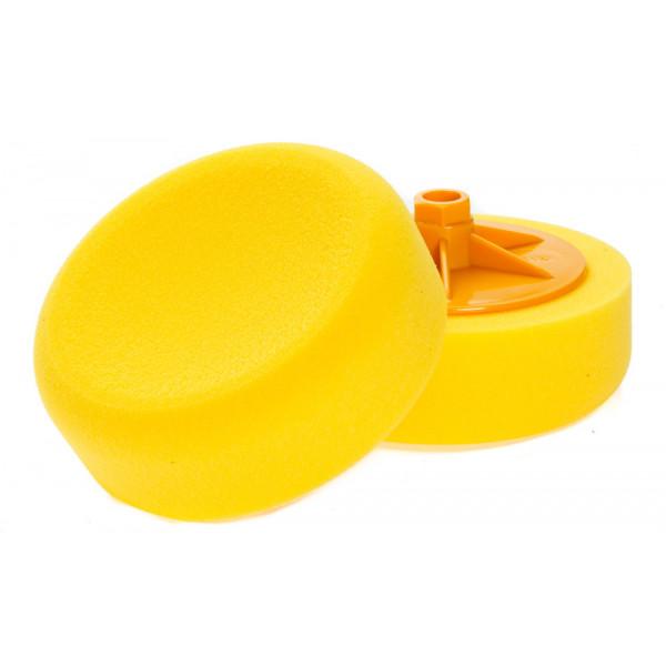 NAT Żółta Średnia gąbka polerska M'14 150mm