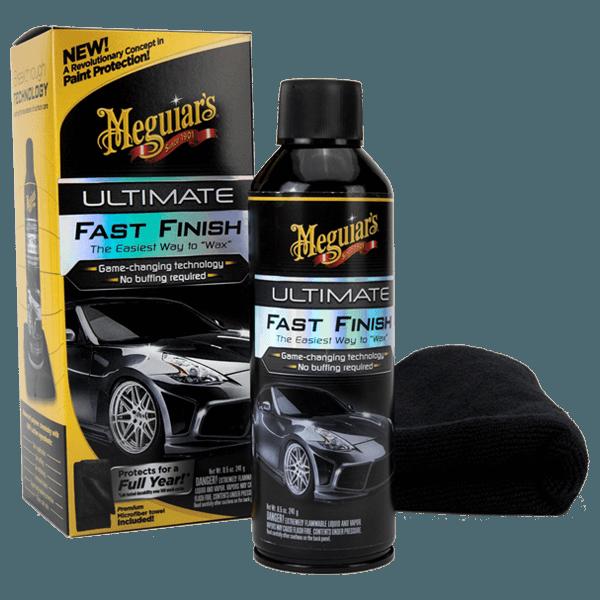 Meguiar's Ultimate Fast Finish 241g + Mikrofibra