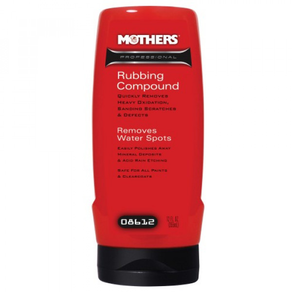 Mothers Rubbing Compound 355ml