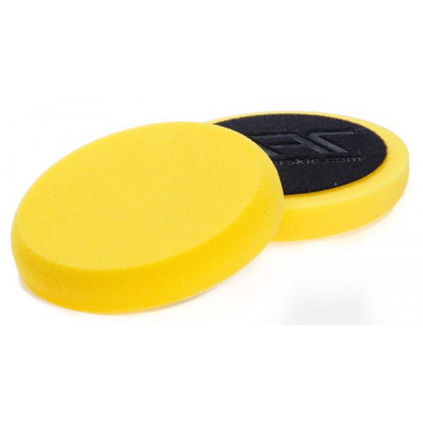 NAT Żółta Średnia gąbka polerska 150mm