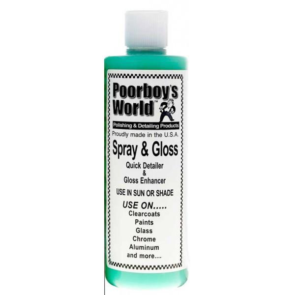Poorboy's World Spray & Gloss
