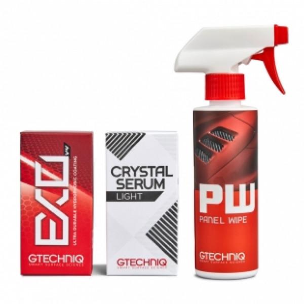 Gtechniq Zestaw Power Couple, PW, Crystal Serum Light, EXO v4 50ml