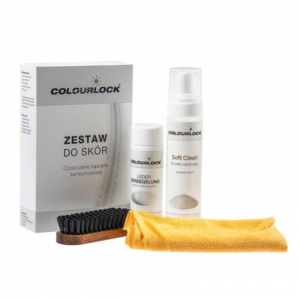 Colourlock Zestaw do czyszczenia i konserwacji  skórzanej tapicerki Soft