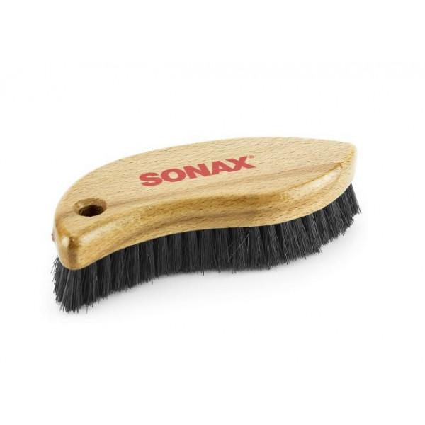 Sonax szczotka do czyszczenia skóry
