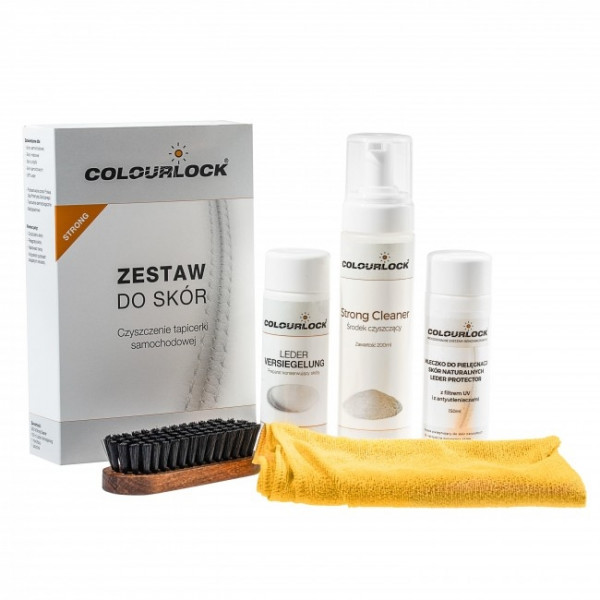 Colourlock Zestaw Strong + Colourlock Leder Protector