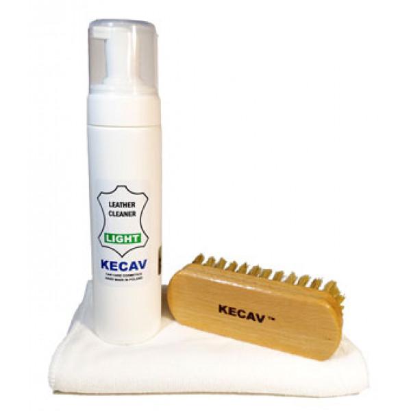 Kecav Leather Cleaner Set Light