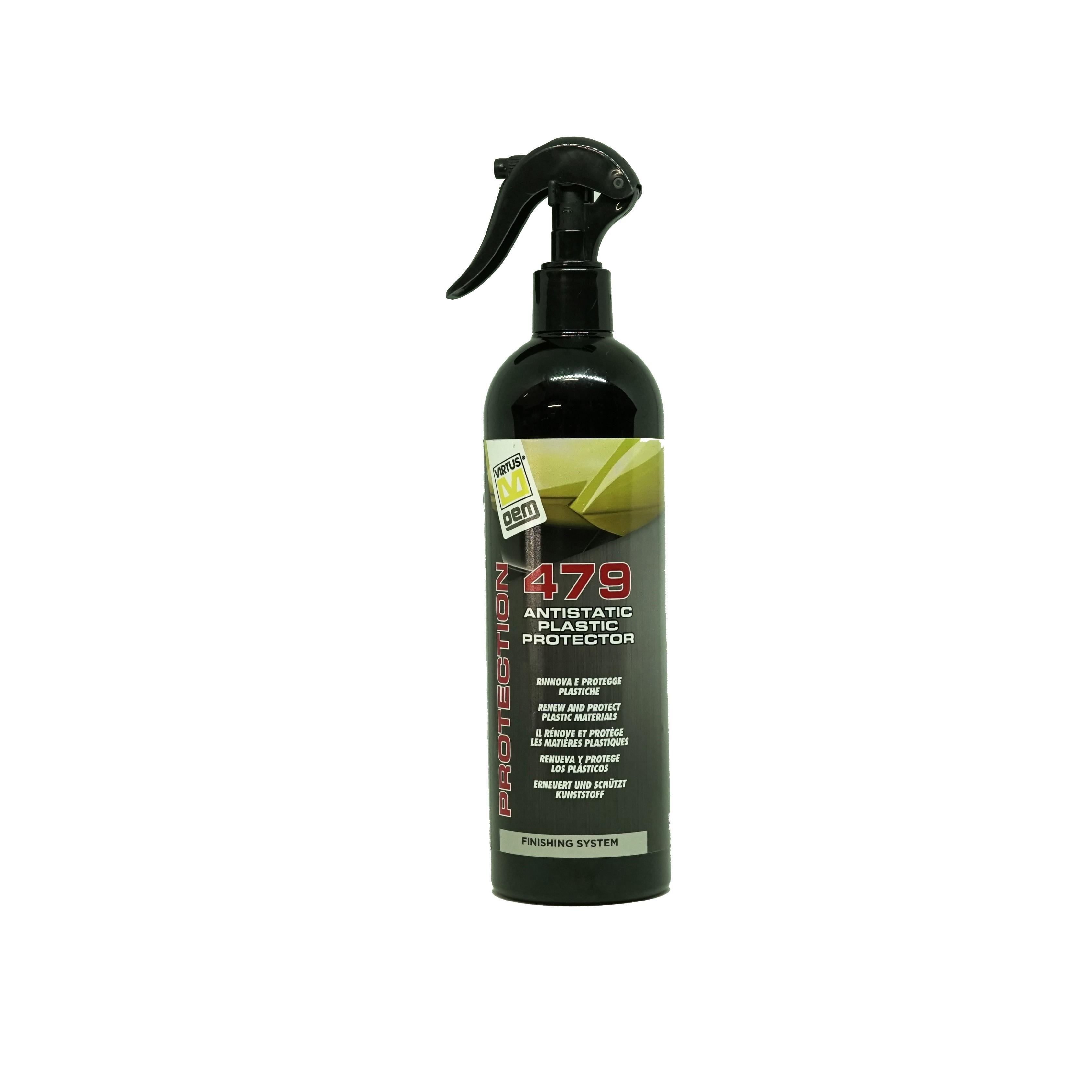 Virtus 479 Antistatic Plastic Protector 500ml
