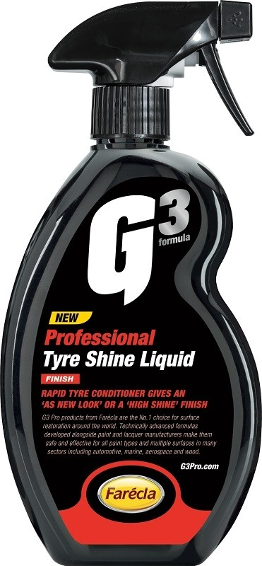 Farecla G3 Professional Tyre Shine Liquid 500ml