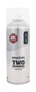 Maston Two 2K Lakier Bezbarwny Połysk 400ml