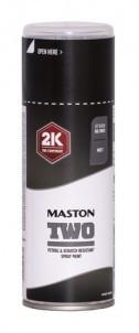 Maston Two 2K Lakier Czarny Mat 400ml