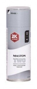 Maston Two 2K Spray Podkład Szary 400ml