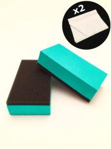 Royal Pads Coat Applicator + 2 Satin Microfiber