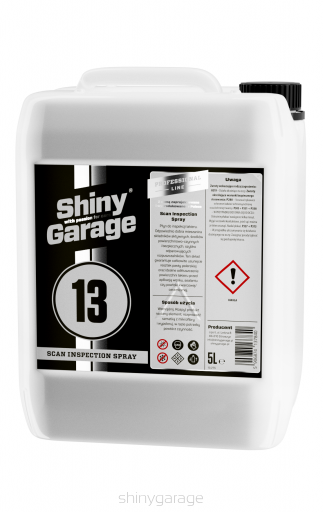 Shiny Garage Scan Inspection Spray