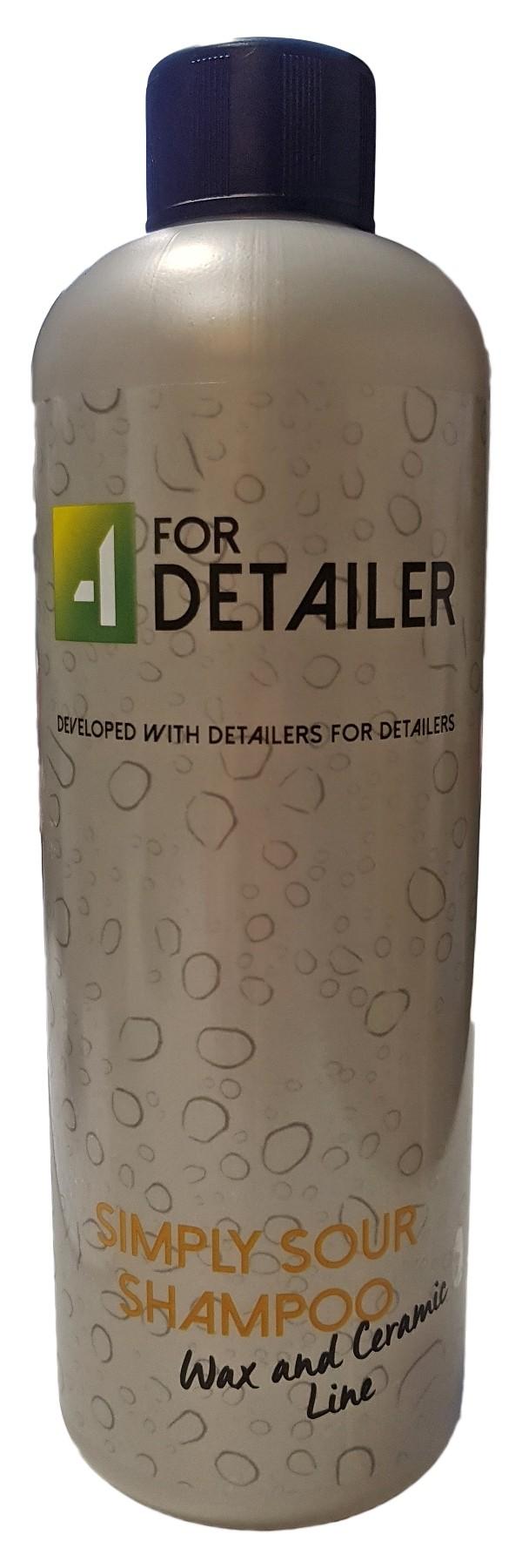 4Detailer Simply Sour Shampoo 1L Kwaśny szampon
