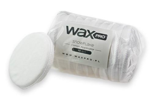 WaxPro Snowflake Cotton Applicator 10pack