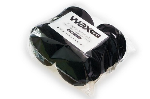 WaxPro Super Soft Foam Black Series Applicator 10pack