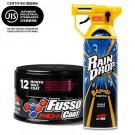 Soft99 New Fusso Coat 12 Dark + Rain Drop Bazooka 300ml
