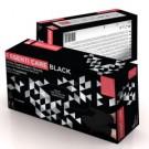 Essenti Care Black Rękawiczki Nitrylowe M 100szt