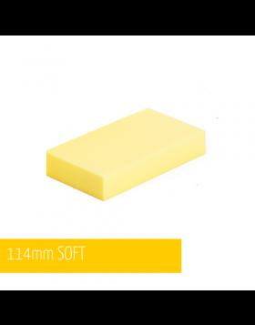 NAT Klocek Szlifierski Miękki Żółty Plus 11cm