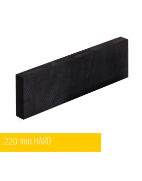 NAT Klocek Szlifierski Bardzo Twardy Czarny Plus 22cm