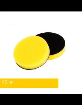 NAT Żółta Średnia gąbka polerska 40mm