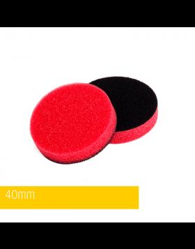 NAT Czerwona średnio miękka gąbka polerska 40mm