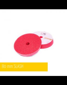 NAT Slash DA Czerwona Średnio Miękka gąbka polerska 80mm