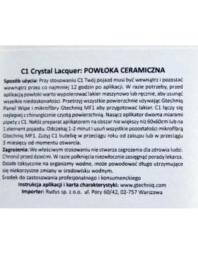 Gtechniq C1 Crystal Lacquer 30ml