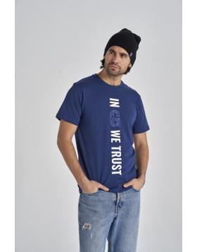 GYEON T-Shirt Navy Blue XL