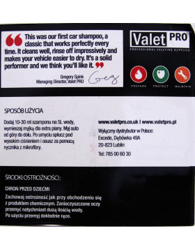 ValetPRO Concentrated Car Wash1L
