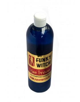 Funky Witch Blue Broom APC