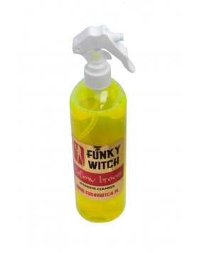 Funky Witch Yellow Broom Interior Cleaner