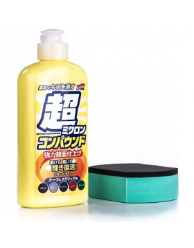 Soft99 Micro Liquid Compound Set Dark & Metallic 250ml - cleaner do lakieru