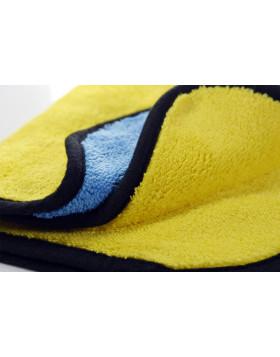 Mikrofibra Supersoft żółto-niebieska 40x40cm