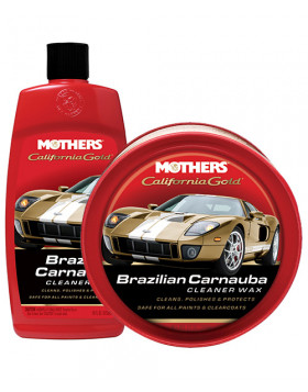 Mothers Brazilian Carnauba Cleaner Wax