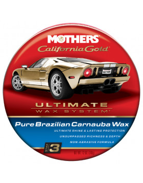 Mothers California Gold Pure Carnauba Wax
