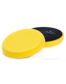 NAT Żółta Średnia gąbka polerska 160mm