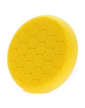 NAT Honey Żółta Średnia gąbka polerska 150mm