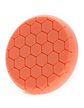 NAT Honey Pomarańczowa Twarda gąbka polerska 135mm