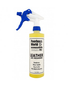 Poorboy's Leather Air Freshener 473ml