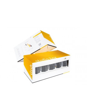 NAT Studio Box Slash DA Grafitowa Twarda gąbka polerska 133/148mm