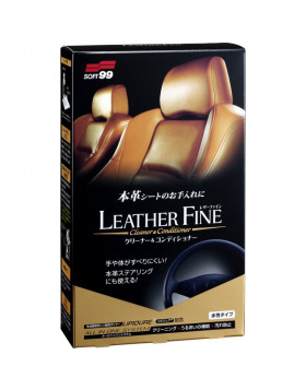 Soft99 Leather Fine-Cleaner & Conditioner