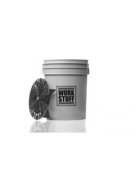 Work Stuff Detailing Bucket Grey Wheel Wiadro + separator