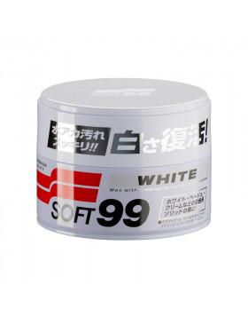 Soft99 White Soft Wax 350g