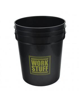 Work Stuff Detailing Bucket Black Rinse Wiadro