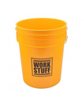 Work Stuff Detailing Bucket Yellow Wash Wiadro