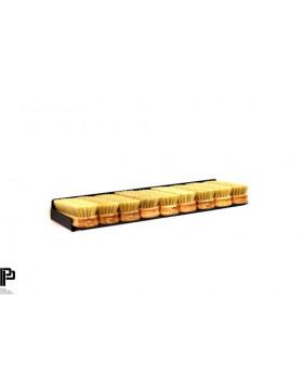 Poka Premium Półka na szczotki do skóry i tapicerki 40cm